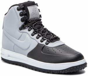 Topánky NIKE - Lunar Force 1 Duckboot '18 BQ7930 Black/Wolf Grey/Pure Platinum