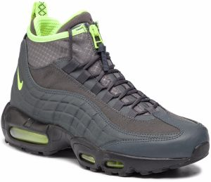 Topánky NIKE - Air Max 95 Sneakerboot 806809 003 Anthracite/Volt/Dark Grey