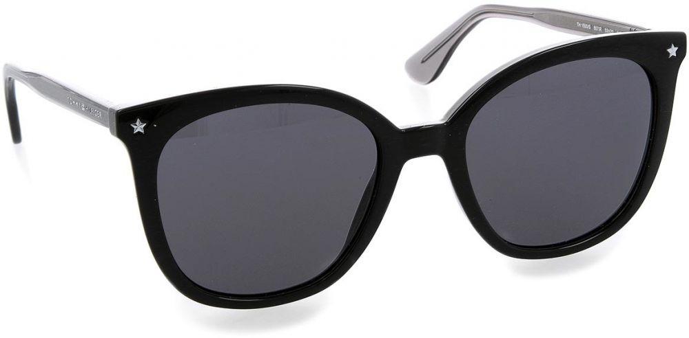 Lovely Žena Doplnky Slnečné okuliare. Slnečné okuliare TOMMY HILFIGER -  1550 S Black 807 48162acc180