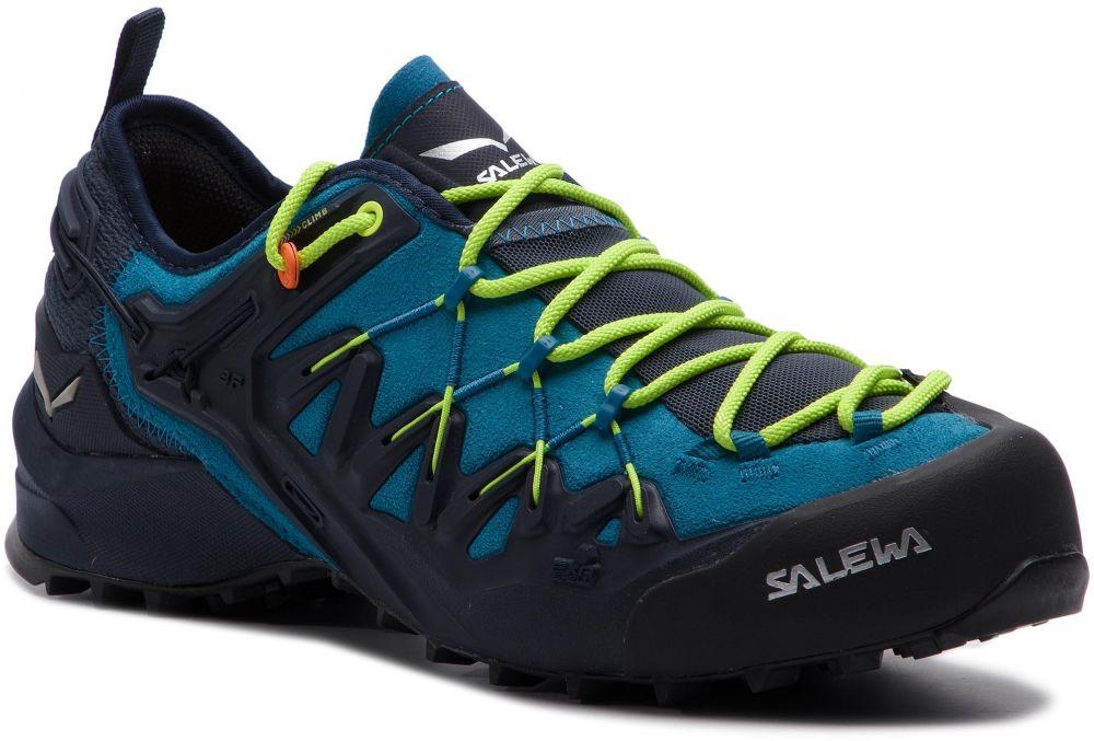 7cd33b96d4e3b Trekingová obuv SALEWA - Wildfire Edge 61346-3988 Premium Navy/Fluo Yellow  značky Salewa - Lovely.sk