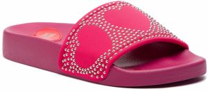 Šľapky LOVE MOSCHINO - JA28032G17IN0604 Fuxia
