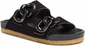 Šľapky TORY BURCH - Adrien Two Band Slide 54898 Perfect Black 004