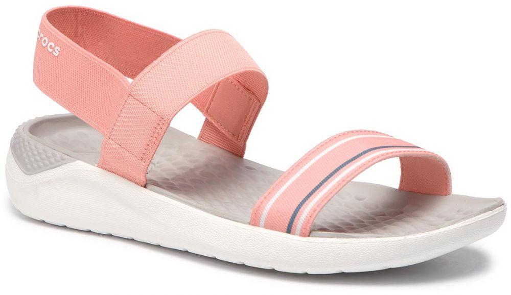 ad25bc10dafa Sandále CROCS - Literide Sandal W 205106 Melon White značky Crocs ...