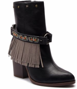 Členková obuv DESIGUAL - Shoes Folk Gipsy Patch 18WSTP06 2000