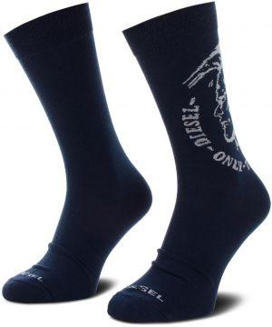 0906299b2a734 Súprava 2 párov vysokých ponožiek unisex DIESEL - Skm Ray  00SAYH-0EASX-E4076 Tmavo