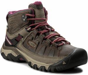 Trekingová obuv KEEN - Targhee III Mid Wp 1018178 Weiss Boysenberry 26b22b3353f