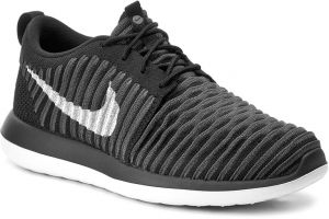 info for 46bd1 f2faa Topánky NIKE - Roshe Two Flyknit (GS) 844619 001 Black White Anthracite