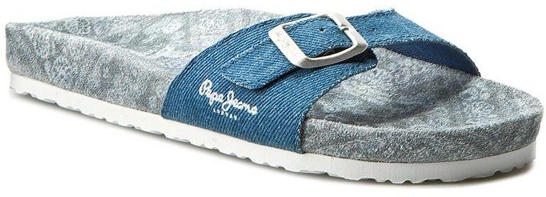 925905db2c Šľapky PEPE JEANS - Oban Betty PLS90258 Azzurro 520 značky Pepe ...