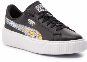 Sneakersy PUMA - Basket Pltfrm Trailblazer SQN Jr 369045 03 Puma Black/Puma Team Gold