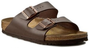 Šľapky BIRKENSTOCK - Arizona 0051703 Dark Brown