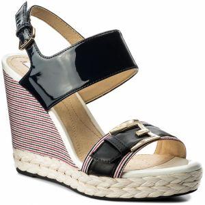 ... Dámske sandále na klinovom podpätku Geox. Podobné produkty. Espadrilky  GEOX - D Janira E D82P6E 00254 C4002 Navy 7653ff80dd