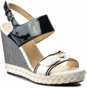 3679cf47c Modré sandále na plnom podpätku Geox Mary Karmen značky Geox - Lovely.sk
