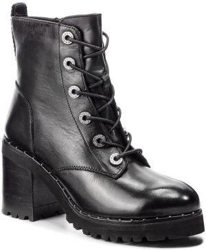 38ade315bda Členková obuv STEVE MADDEN - Xina Ankleboot SM11000076-03001-017 Black  Leather