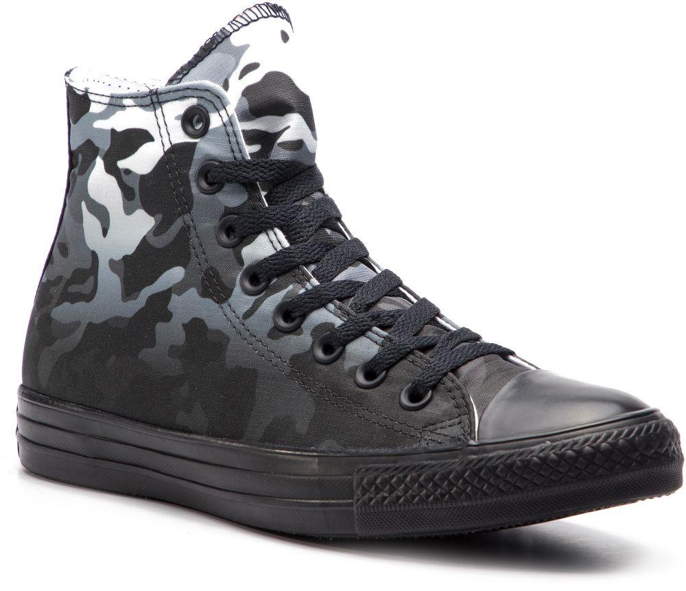 61a704113477 Tramky CONVERSE - Ctas Hi 163240C White Black Black značky Converse ...