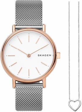 Hodinky SKAGEN - Signatur SKW1106 Silver Gold 1f4f4ded35a
