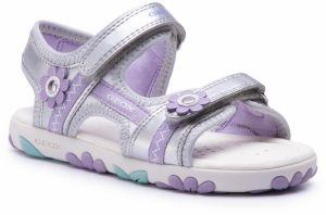 cacd87e4bf40 Canguro Dievčenské sandále s hviezdičkami - strieborné značky ...