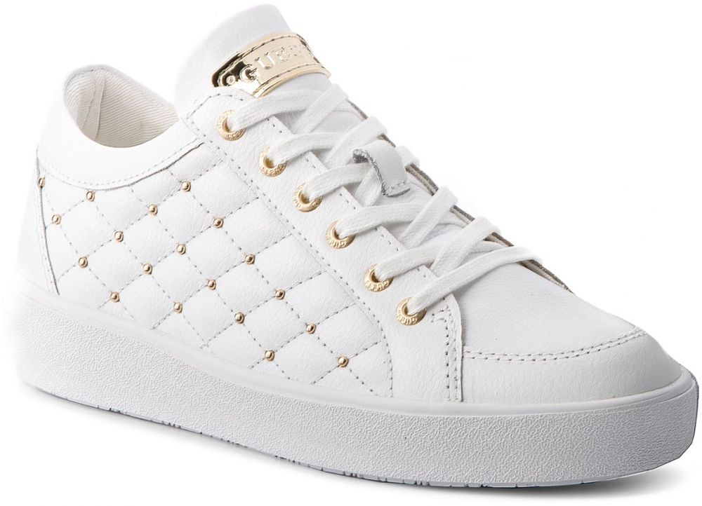 9f82966340bd9 Sneakersy GUESS - FLGLN3 LEA12 WHITE značky Guess - Lovely.sk