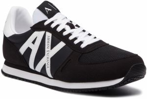 Sneakersy ARMANI EXCHANGE - XUX017 XV028 00986 Black/White