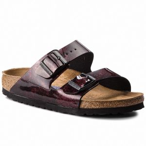 Šľapky BIRKENSTOCK - Arizona Bs 1011135 Iride Strong Red