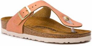 Žabky BIRKENSTOCK - Gizeh Bs 1012910 Washed Metallic Sea Copper
