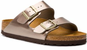 Šľapky BIRKENSTOCK - Arizona Bs 1012972 Electric Metallic Taupe