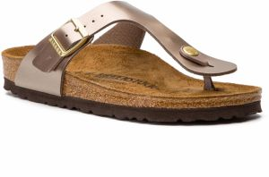 Žabky BIRKENSTOCK - Gizeh Bs 1012984 Electric Metallic Taupe