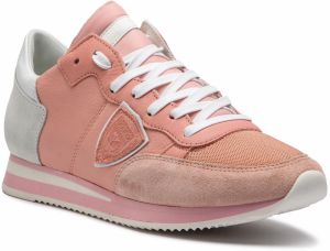Sneakersy PHILIPPE MODEL - Tropez TRLD WZ73 Mondial Veau Rose