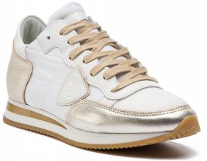 Sneakersy PHILIPPE MODEL - Tropez TRLD WM05 Blanc Or