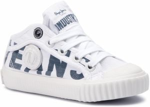 Tramky PEPE JEANS - Industry Logo PBS30398 White 800