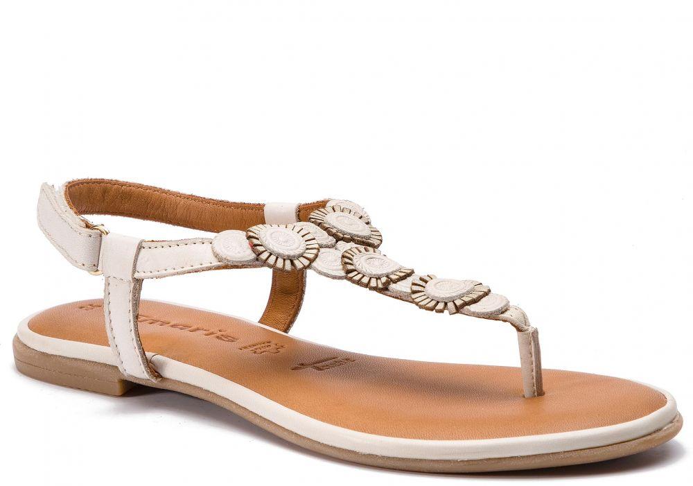 e28437cd75 Sandále TAMARIS - 1-28150-22 Ivory 418 značky Tamaris - Lovely.sk
