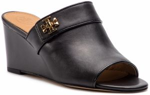 Šľapky TORY BURCH - Kira 65mm Open Toe Mule 55051 Perfect Black 004