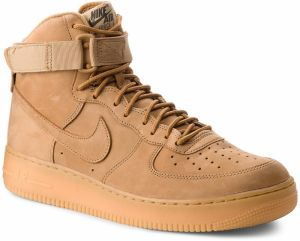 Topánky NIKE - Air Force 1 High '07 Lv8 Wb 882096 200 Flax/Flax/Outdoor Green
