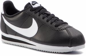 Topánky NIKE - Classic Cortez Leather 807471 016 Black/White/Black