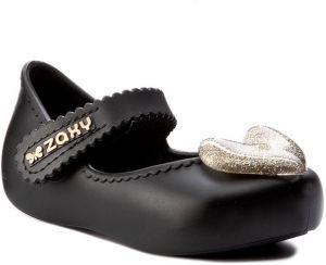 ad4e0adf0ad Čierne detské kožené tenisky na suchý zips adidas Originals značky ...