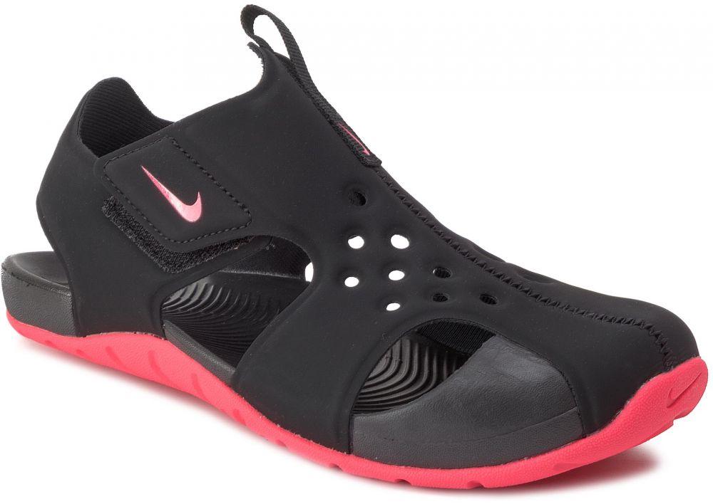 ba0959a7e Sandále NIKE - Sunray Protect 2 (PS) 943826 003 Black/Racer Pink značky Nike  - Lovely.sk