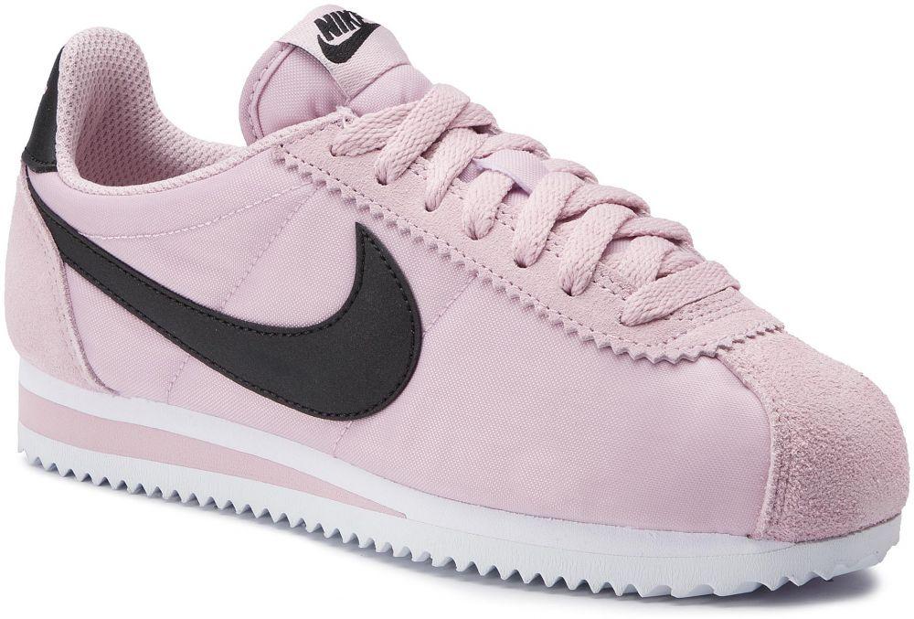 Topánky NIKE - Classic Cortez Nylon 749864 502 Plum Chalk Black White  značky Nike - Lovely.sk c49ac0556a6
