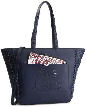 Kabelka PEPE JEANS - Paulette Bag PL030997 Steel Blue 563 13023f0f5e5