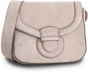 Kabelka COCCINELLE - DS1 Vega Suede E1 DS1 12 01 01 Taupe N75
