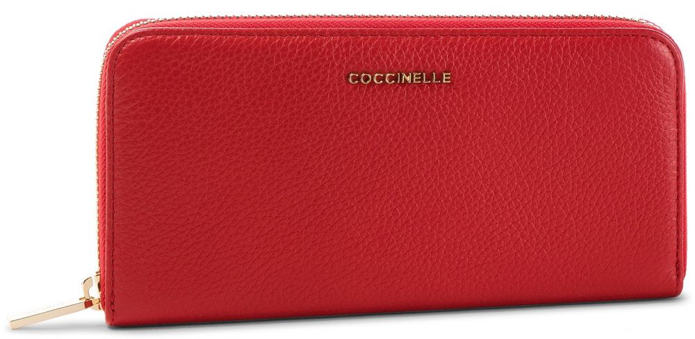 bc38c831fd Veľká Peňaženka Dámska COCCINELLE - DW5 Metallic Soft E2 DW5 11 04 01  Coquelicot R09 značky Coccinelle - Lovely.sk