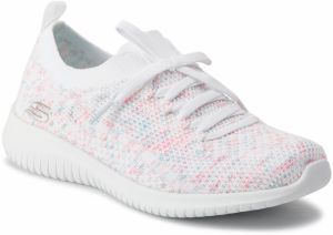 Topánky SKECHERS - Happy Days 13101/WPKB White/Pink/Blue
