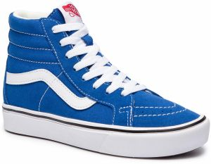 Sneakersy VANS - Comfycush Sk8-H VN0A3WMCVO11 (Suede Canvas) Lapis Blue a9e9b08ab71