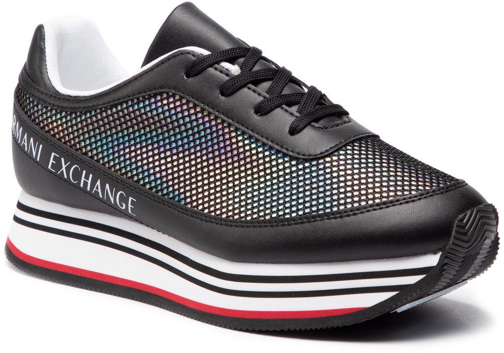Sneakersy ARMANI EXCHANGE - XDX030 XV123 K001 Black značky Armani Exchange  - Lovely.sk 89e374be0ba