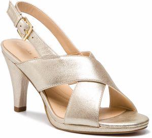 d5a72cc0b336 Sandále CLARKS - Dalia Lotus 261388634 Champagne