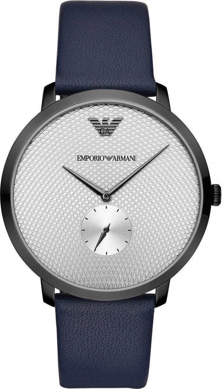 Hodinky EMPORIO ARMANI - Modern Slim AR11214 Navy Silver značky ... 24b0ede9adc