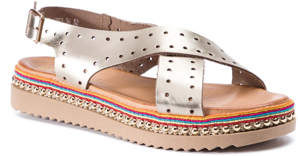 Sandále CARINII - B4953 F55-000-000-986 značky Carinii - Lovely.sk c3a7732637f