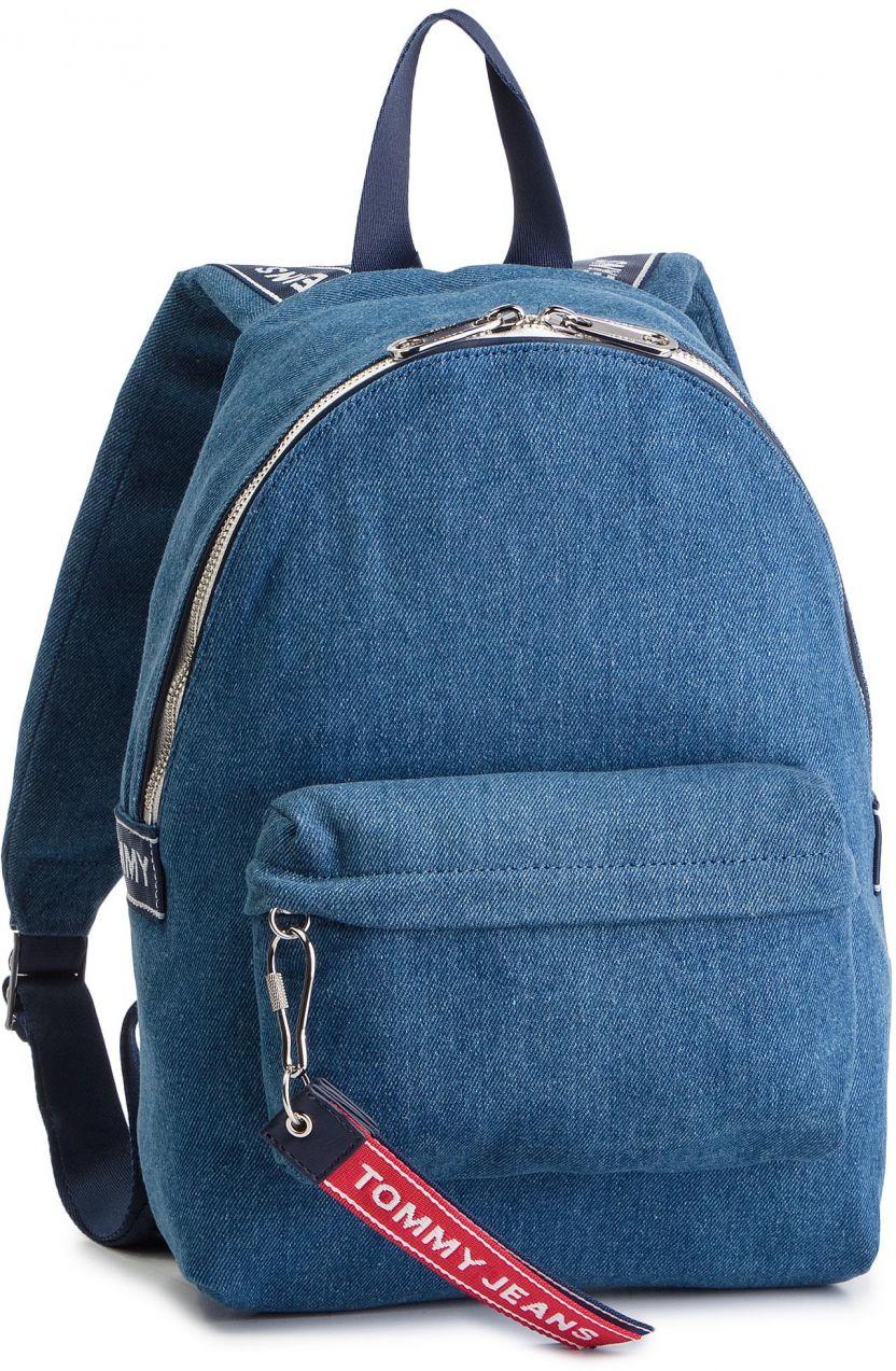 88c53bb18b Ruksak TOMMY JEANS - Tju Logo Tape Mini Backpack Denim AU0AU00673 ...