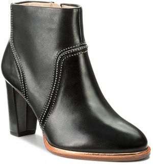 Členková obuv CLARKS - Ellis Betty 261291714 Black Leather