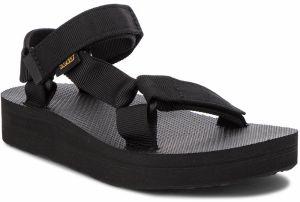 cb466ecd1 Čierne dámske kožené sandále na platforme Teva značky Teva - Lovely.sk