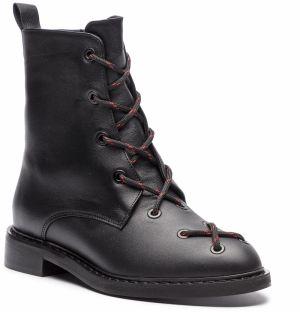72c8e3f8bab4d Členková obuv L37 - Black Rider Fur SN8V5 Čierna značky L37 - Lovely.sk