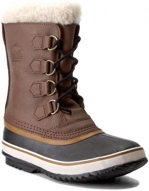 105a28096 Outdoorová obuv SOREL - Portzman Lace NM2761 Buff/Hawk 281 značky ...